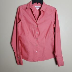 Foxcroft NYC Heritage Non-Iron Fitted Shirt